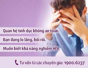 Tư vấn HIV trực tuyến 1900.6237