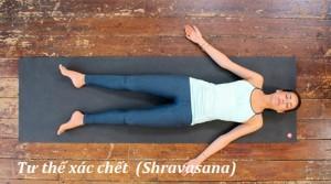 101015 Yoga giam cang thang6 300x167 Bài tập yoga tốt cho sức khỏe (phần 1) | Các quy tắc và thư giãn tư thế xác chết