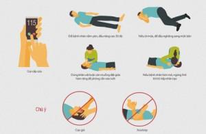 Sơ cứu bệnh nhân đột quỵ