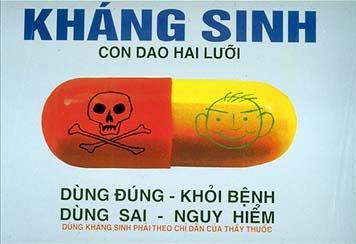 Không nên lạm dụng kháng sinh