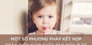 Khắc phục táo bón ở trẻ 2 tháng tuổi