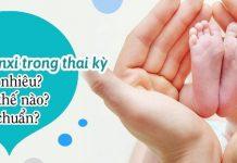 canxi trong thai kỳ