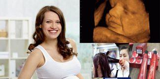 lỡ nhuộm tóc khi mang thai