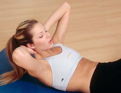 Tập thể dục giúp tăng vòng 1