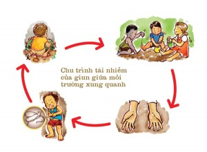 tay giun cho con khong phai cu thich la tay 300x220 Nhiễm giun ở trẻ  | Các loại thuốc tẩy giun cho trẻ nhỏ